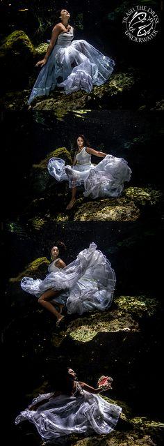 Underwater Trash The Dress - Sebi Messina Photography
