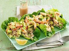 Prawn, Avocado, Rice & Quinoa Salad with Buttermilk Dressing - SunRice