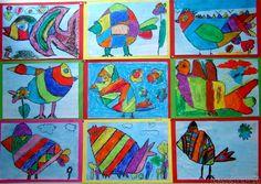 teacher appreciation ideas for first grade art projects Dutch Artists, Famous Artists, School Art Projects, Art School, Artists For Kids, Art For Kids, Doodle Drawing, Cobra Art, First Grade Art