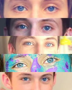 """""""They're like a deep hazel brown"""" we'll never forgive Tyler for this"""