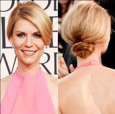 Love this simple up do. So gorgeous.