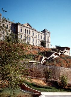 La Granja Escalator. Toledo. Spain. Torres + Martínez Lapeña. 2000
