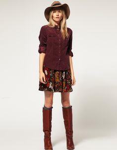 Vero Moda | Vero Moda Retro Floral Skirt at ASOS