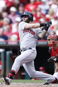 Entering the final year of his contract with the Red Sox, Mike Napoli has found a home in Boston.