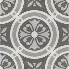 Decorative Porcelain Tile Classy Somertile 775X775Inch Thirties Classic Ceramic Floor And Wall Design Decoration