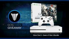 Enter This Xbox One S Gears Of War 4 Bundle Giveaway!