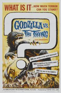 """Godzilla vs Mothra vs her split personality """"The Thing"""""""