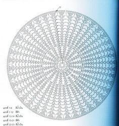 Mussambe: Capa p/Almofada em Crochê - gráfico