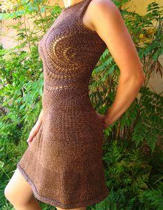 "Great knit adaptation from original ""Swirl"" pattern."