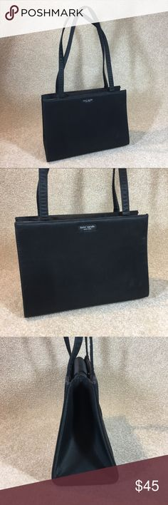 Kate spade sam bag The One That Started It All! kate spades original design. The Sam bag in black nylon. Still in very food condition for a bag that is around 20 years old!  Large open interior, no wear through on corners. Great piece!    I love to bundle! I love to consider your offers! I love to ship quickly so you can enjoy your purchase ASAP!!! kate spade Bags Shoulder Bags