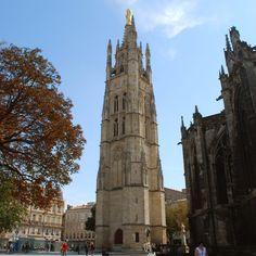 Cathédrale Saint-André de Bordeaux Tour clocher Pey-Berland 33