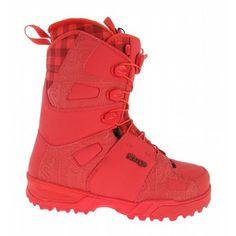 Salomon Savage Mens Snowboard Boots Red
