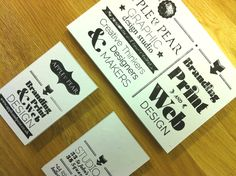 Apple #letterpress cards. www.appleandpear.co.uk