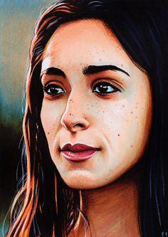 Game of Thrones - Talisa Maegyr by Trev Murphy