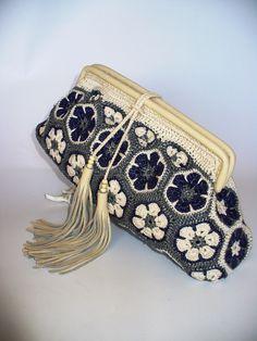 CRISTINA crochet frame purse created by LeeLu