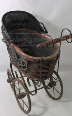 Antique Baby Doll Stroller