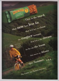 Image result for nature valley print ad