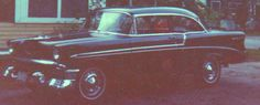 The Black Rose - My 1956 Chevy Belair! Now that was a sweet car!