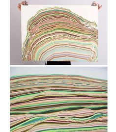 marbeling prints by Pernille Snedker Hansen
