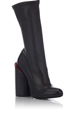 3f3bc71dfdc Givenchy Oversized-Heel Leather Boots