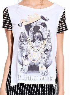 t-shirt dog king funny