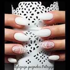 Znalezione obrazy dla zapytania białe paznokcie