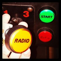 Finally tracked down a NOS Radio button for my Cruis'n USA 😀👍#arcade #hardware #retro #cruisnusa #radio #midway #nintendo #racing #videogames