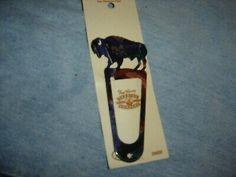 Fred Harvey Trading Company Metal Buffalo Vintage Bookmark | eBay
