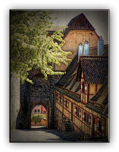 Oldrobel's Fotoreise: Nuernberg Rising to the castle