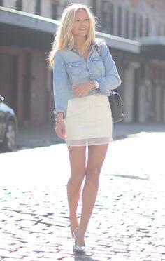 Sofi Fahrman jeans shirt