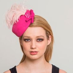 Buy designer UK made fascinators, fascinator hats and hatinators in colours to suit all outfits. How To Make Fascinators, Pink Fascinator, Pill Boxes, Felt Hat, Color Swatches, Free Coloring, Design, Fashion, Moda