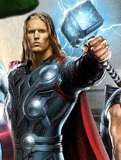 YES! Clay=Thor <3 2 of my favorites combined as one!! Oh yeeeeaaahhhhh ;D