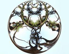 Fractal world photo sphere