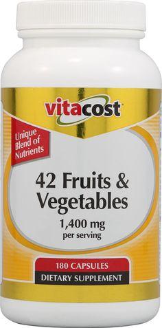 Vitacost 42 Fruits & Vegetables