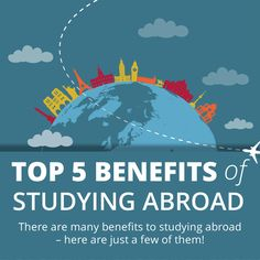 Unsure whether to #studyabroad? Check out these 5 benefits that will change your…