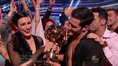 Winners Rumer Willis and Val  DWTS Season 20 Dancing with The Stars Fina...