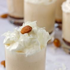 Grown Up Almond Joy Milkshake by apartmenttherapy: French vanilla icd cream, coconut milk, almond liqueur and chocolate liqueur! #Milkshake @Almond_Joy_Milkshake #apartmenttherapy - Click image to find more drinks Pinterest pins