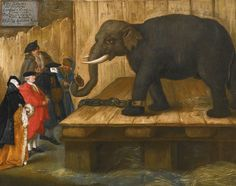 PIETRO LONGHI  VENICE 1701- 1785  THE ELEPHANT