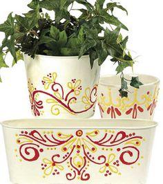 Painted Flower Pots : crafts :  Shop | Joann.com