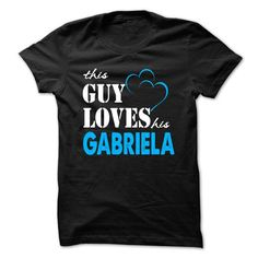 This Guy Love Her GABRIELA ... 999 Cool Name Shirt ! - #tshirt packaging #sweatshirt cutting. CHECKOUT => https://www.sunfrog.com/LifeStyle/This-Guy-Love-Her-GABRIELA-999-Cool-Name-Shirt-.html?68278