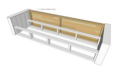 Wood Sofa Frame Plans – Tips Cepat – pallet shed Pallet Furniture Cushions, Wood Sofa, Diy Outdoor Furniture, Furniture Plans, Diy Furniture, Diy Storage Couch, Diy Couch, Wood Storage, Arranging Bedroom Furniture
