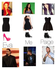 Designer Clothes, Shoes & Bags for Women Wwe Outfits, Wwe Stuff, Girl Clothing, Victoria Beckham, Dean, Jimmy Choo, Angels, Polyvore, How To Wear