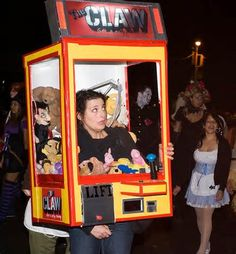 the claw machine halloween costume