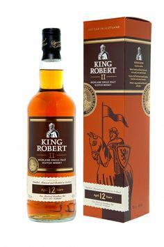 King Robert II 12YO Highland Single Malt Scotch Whisky