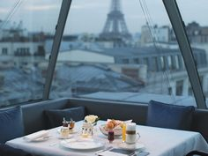 At the brand-new Peninsula, Paris, you'll not only experience over-the-top luxury; you'll also have a chance to dine at one of Paris's most coveted tables, with a stunning view of the Eiffel Tower.