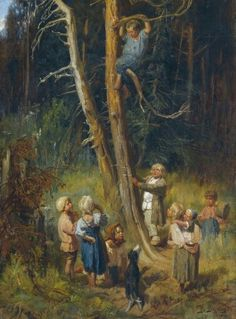 Viktor Vasnetsov, Children in the forest