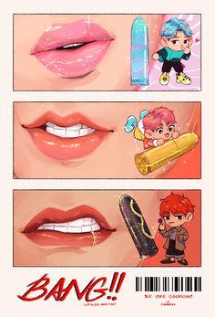 Vmin, Vlive Bts, Bts Taehyung, Jimin Jungkook, Jikook, V Chibi, Fanart Bts, Bts Maknae Line, Bts Drawings