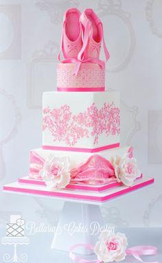 Photo gallery of sweet sixteen cakes Dance Cakes, Ballet Cakes, Ballerina Cakes, Beautiful Cakes, Amazing Cakes, Fondant Cakes, Cupcake Cakes, Ballerina Birthday Parties, Birthday Cake