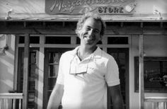 JB in front of the original Margaritaville store at the Key West Bight