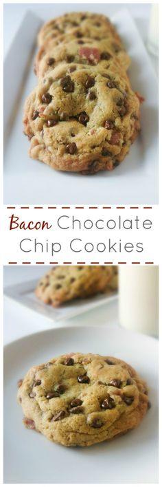 Bacon Caramel Chocolate Chip Cookies | Marsha's Baking Addiction